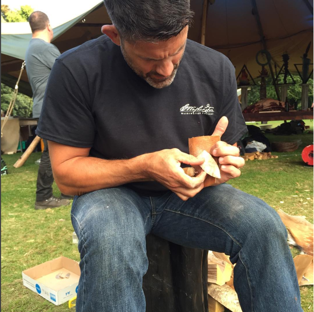Flintknapping -