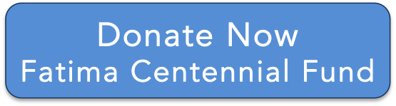 We are grateful for your financial support of Fatima Centennial events. Donations will be used to help defray costs such as a reliquary for holy Fatima relic, Arvo Pärt concert, and host Immaculate Heart of Our Lady of Fatima Statue.