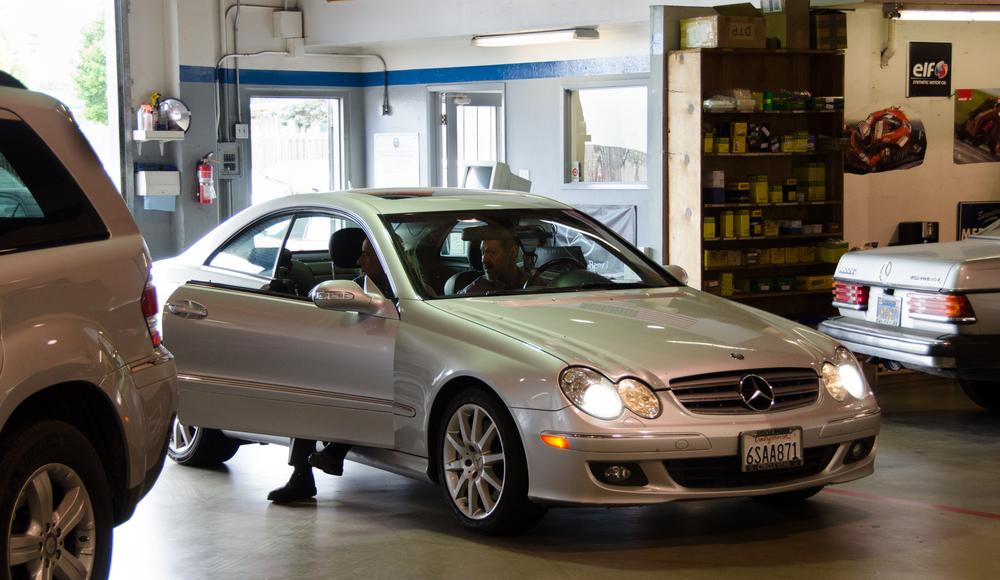 Mercedes Benz service Santa Cruz