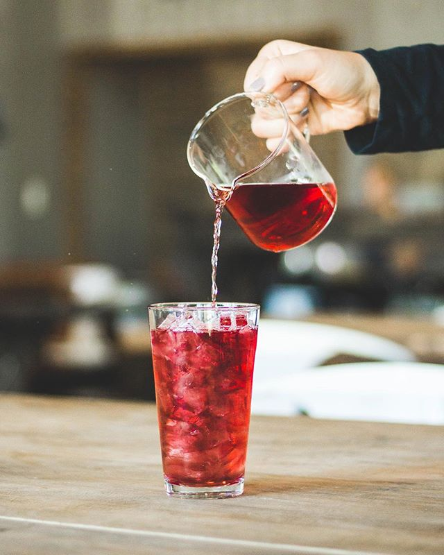 Iced Tea. Need we say more? Probably. It is VERY good, and the perfect way to beat this relentless summer heat. #stayfrothyfam #butalsocool - - - #origincoffee  #coffeeshots  #coffeeprops  #manmakecoffee  #baristadaily  #igerssac  #visitsacramento  #thirdwavecoffee  #singleorigin  #coffee #espresso #cappuccino  #latte