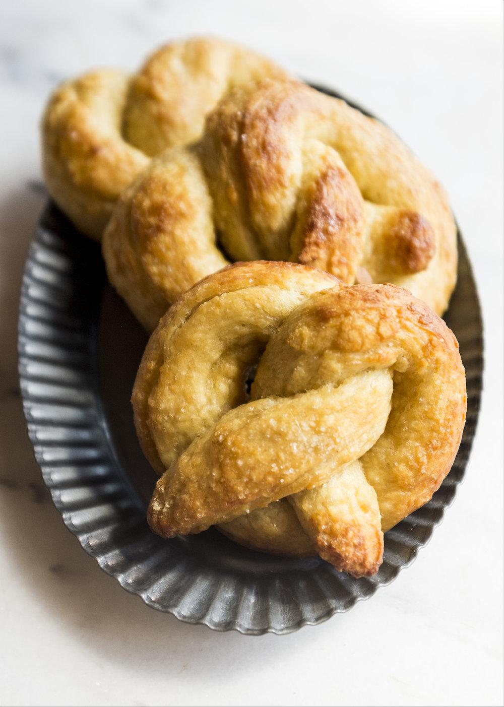 vegan butter pretzels