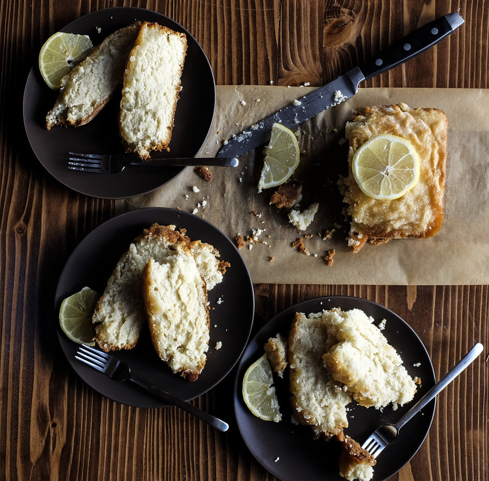 vegan lemon bread