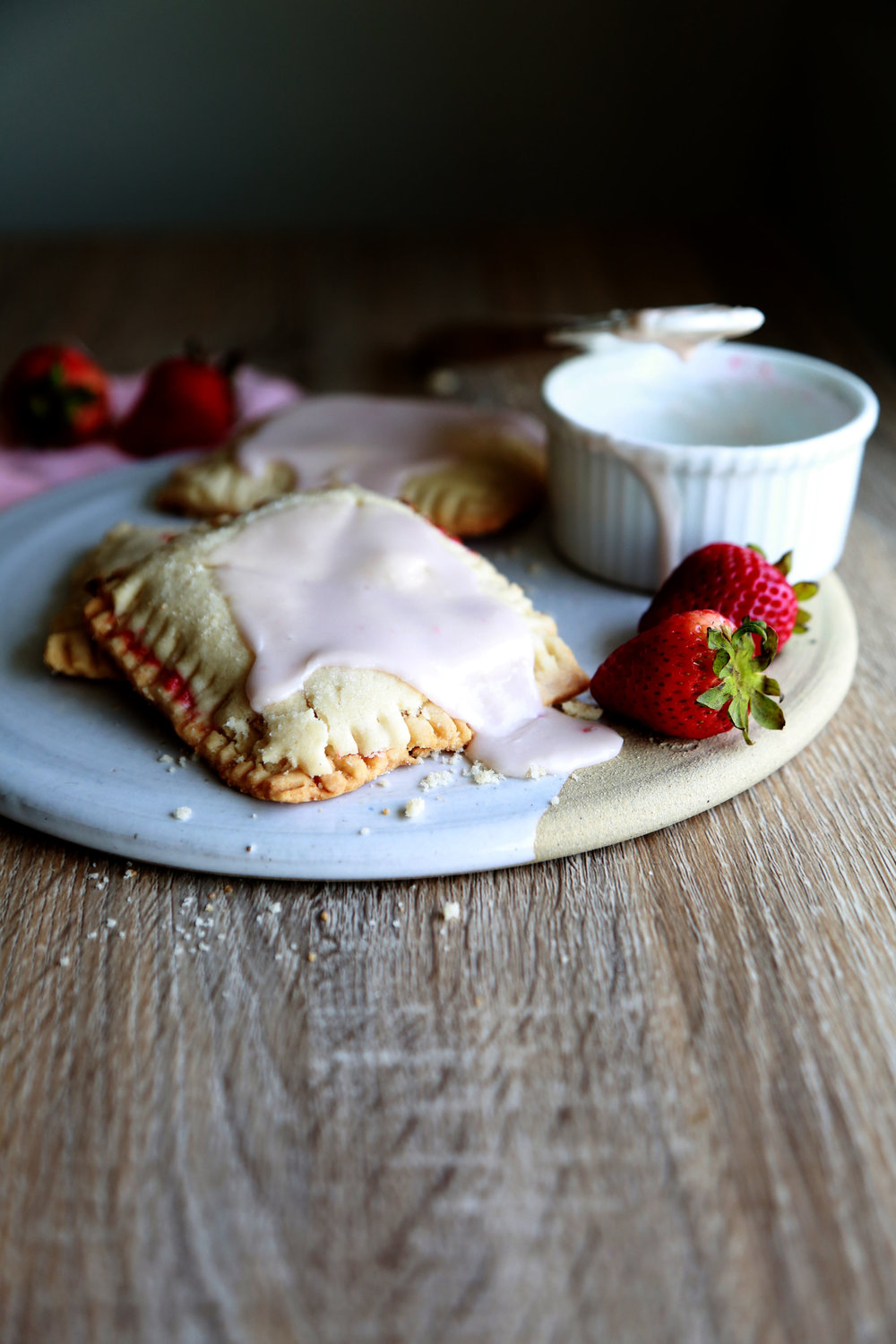 Vegan & GLuten-Free Strawberry poptart