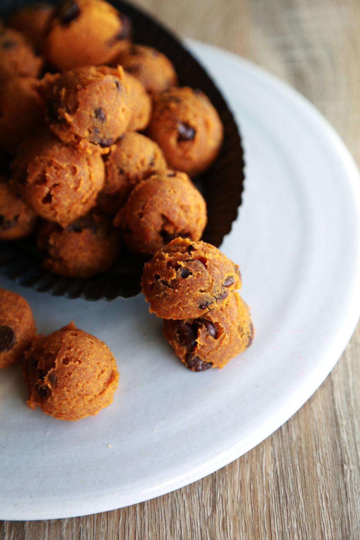 Vegan & Gluten Free Pumpkin Bread Cookies