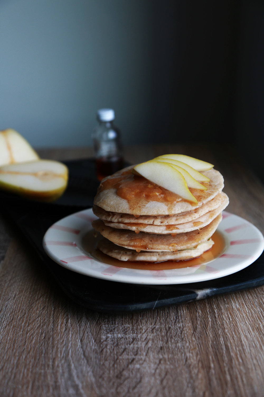 Gluten Free Cinnamon Vanilla Pancakes