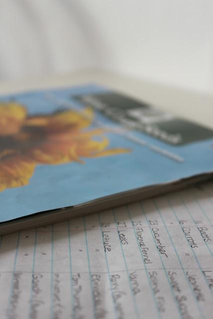 JANUARY 9 --Seed Catalog