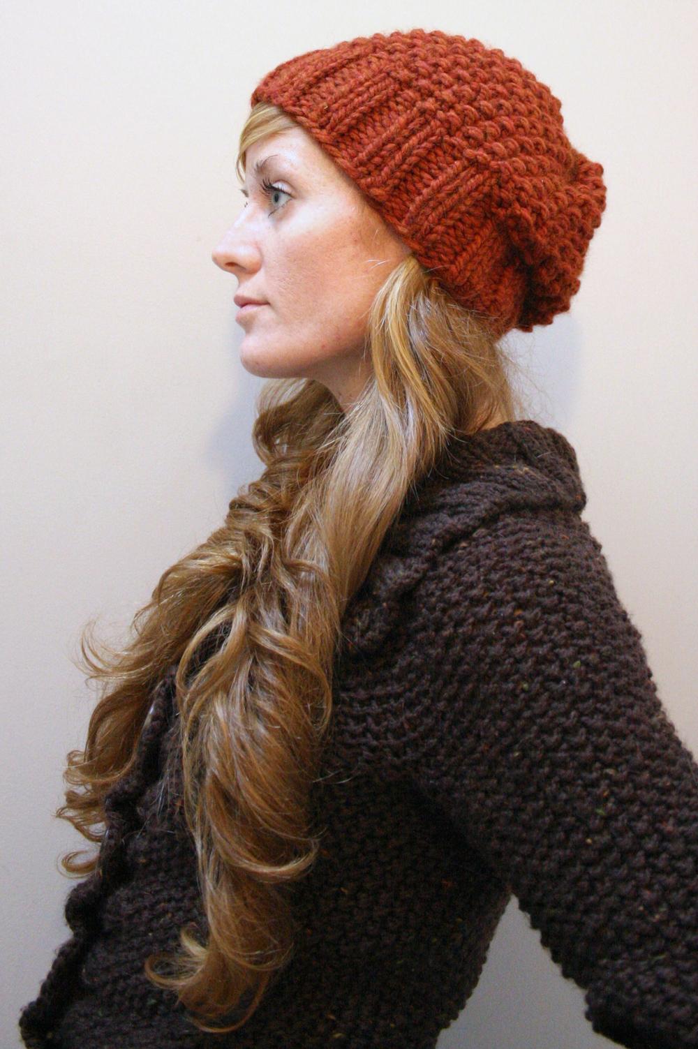 Easy Knit Hat Pattern Bulky Yarn