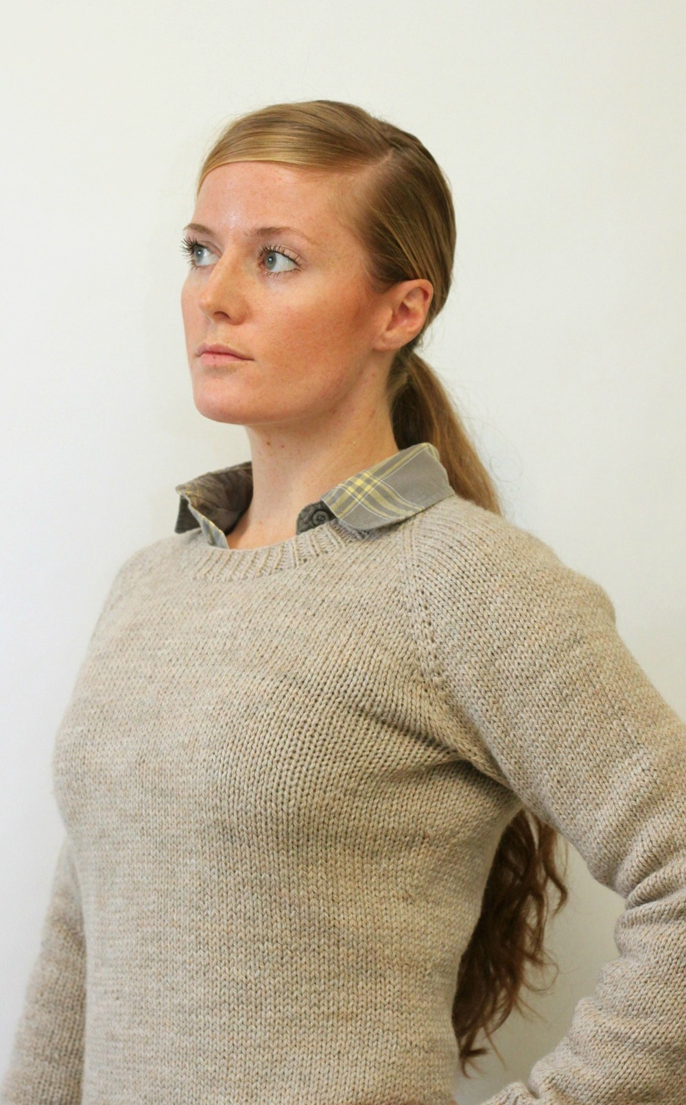 Ladies Classic Raglan Pullover — Jane Richmond