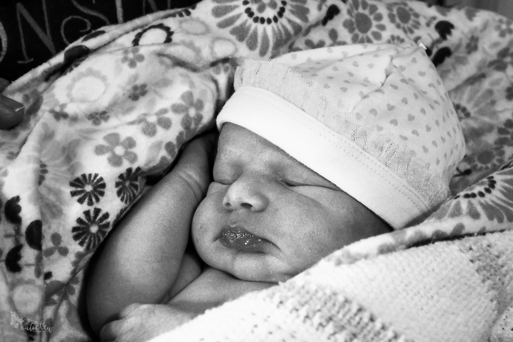 home birth - baby Nora