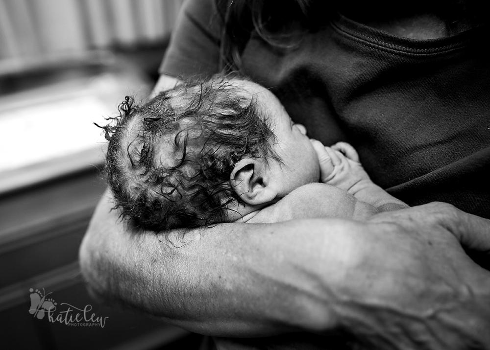 newborn hair is messy