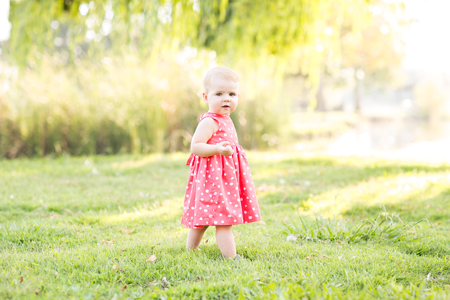 Hattie 1 Year Lens Daisy Photography California Central Valley Childrens Photography1