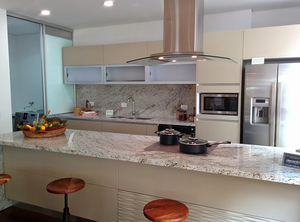 Cocinas en linea mobiliario blanco en lnea combinado con - Cocinas en linea ...