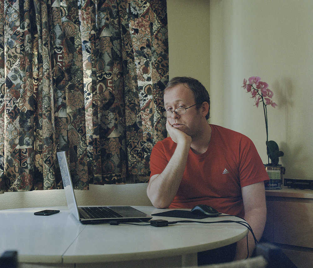 - «The Internet Warriors»KYRRE LIENDuring the last three years, documentarist Kyrre Lien, have traveled across the globe to meet The Internet Warriors, people who are debating and trolling in the comment sections. Tens of thousands of comments have been read to find the 25 warriors Lien have meet. It has become a book, a documentary and the interactive website, in addition to the exhibition. See the whole project here: www.theinternetwarriors.comThe project is made possible with the support from: Fritt Ord Foundation, The GuardFLESKETORGETOUTDOORJune 7th - June 11thStortorvet 9, 1607 Fredrikstad