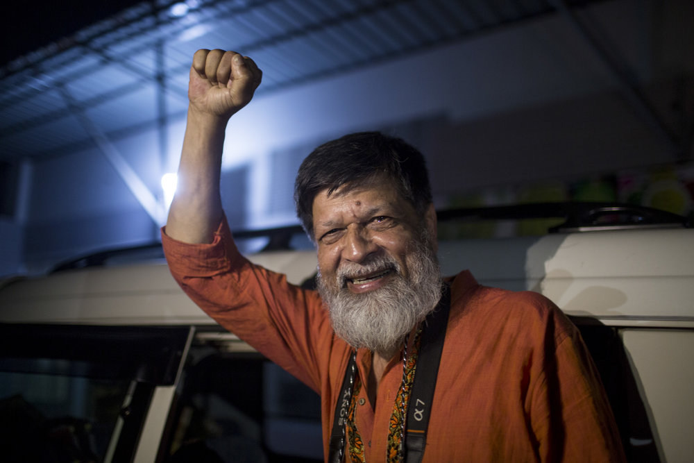 SEMINAR: SAFETY OF JOURNALISTS - TALKS and DEBATE(Requires ticket / festivalpass)- SHAHIDUL ALAM- FRED RAMOS (EL FARO)10.00-14.00FRIDAY MAY 24THHOUSE OF LITERATURE - EGALIAPhoto: Sumon Paul/Drik