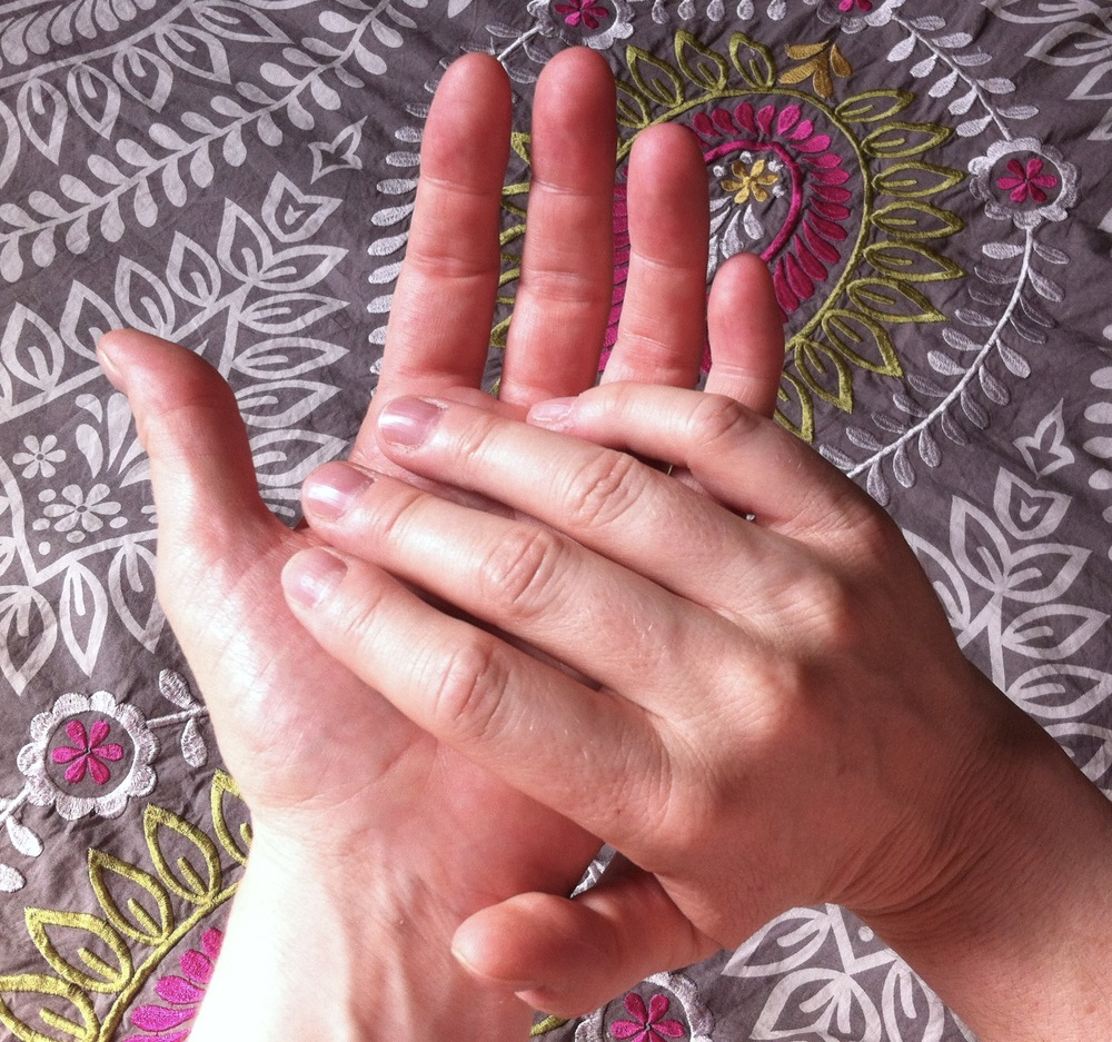 Learn how to slow down and experience touch differently