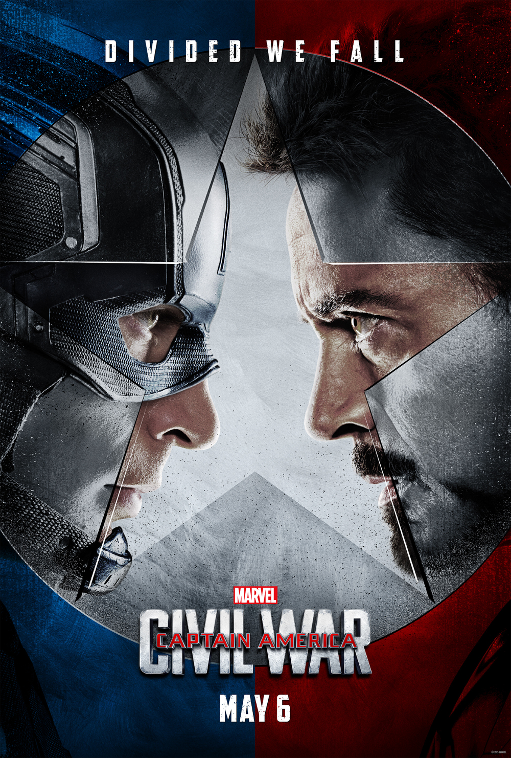 Poster of Captain America Civil War