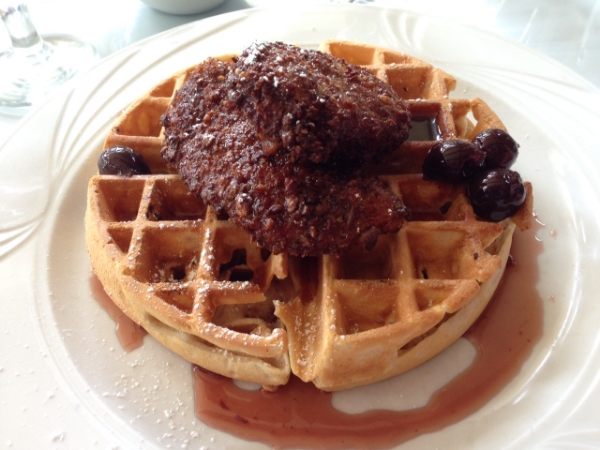 Paul's chicken and waffle