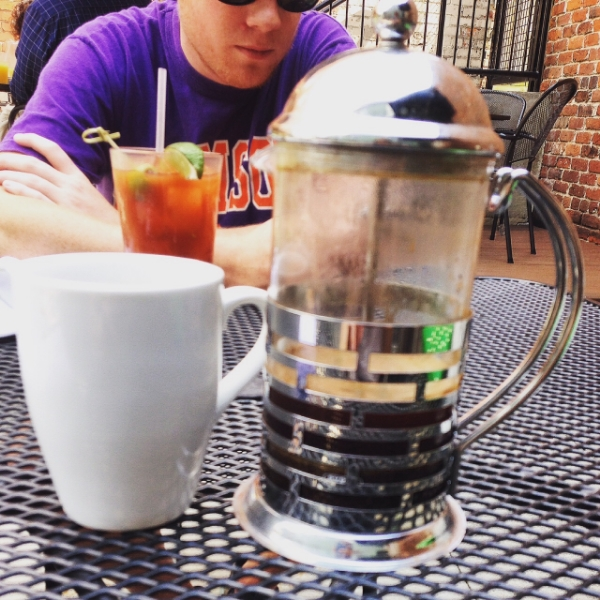 Lamplighter French Press at 23rd and Main