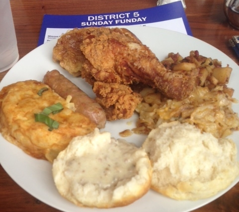District 5 Brunch Buffet Review