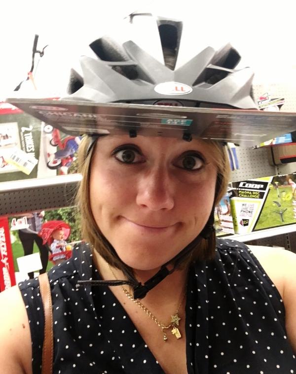 target helmet