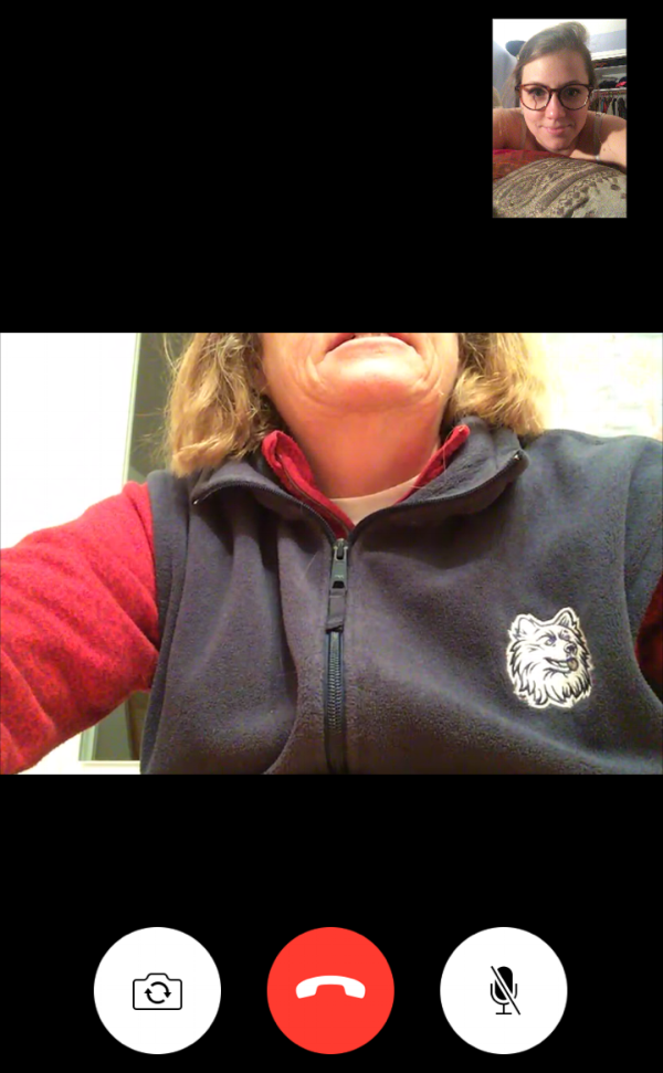 facetime with mom