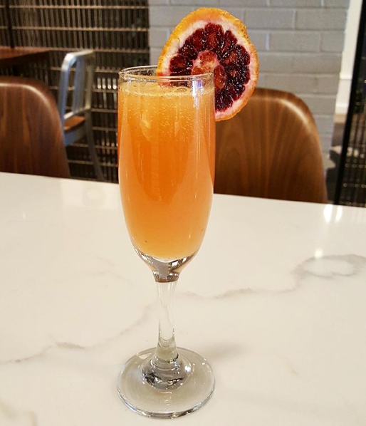 Graduate Richmond  is doing a delicious blood orange mimosa for their Massey Mimosa. Yum!