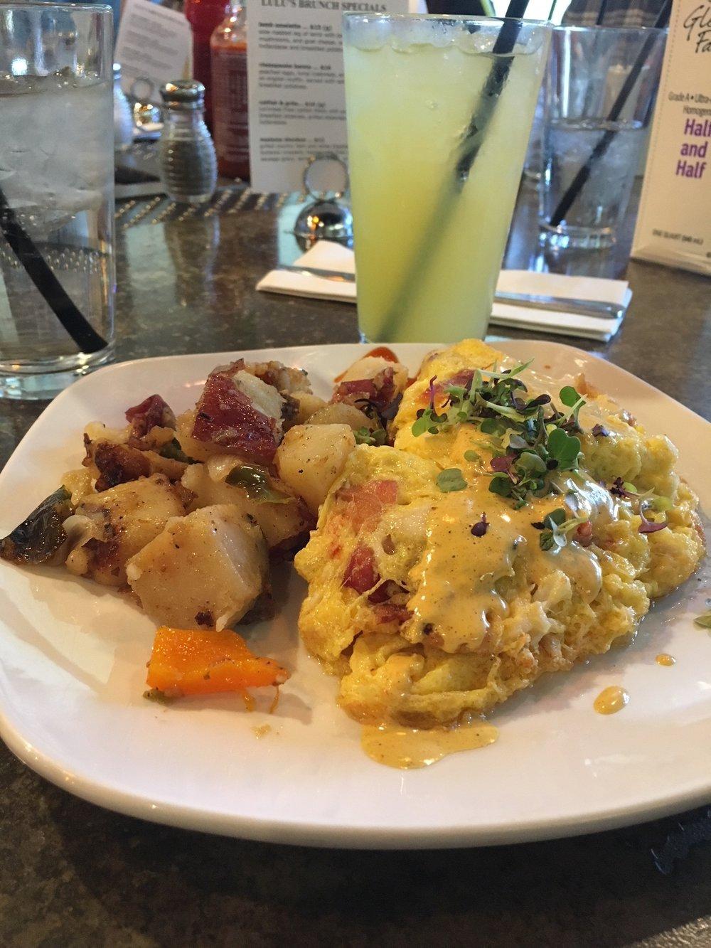 lulu's atlantic omelette