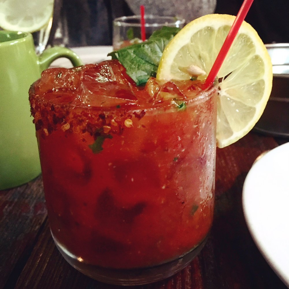 thai basil bloody mary