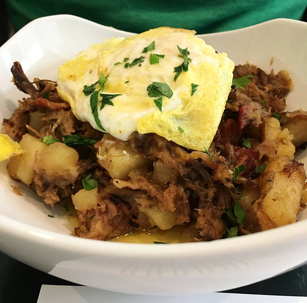 pork shoulder hash
