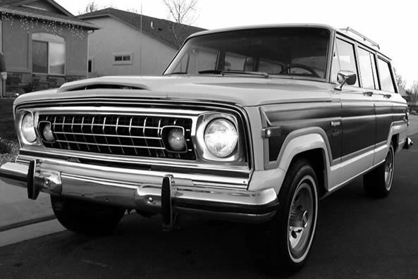 With stripes, also with hole to clip - Wagoneer