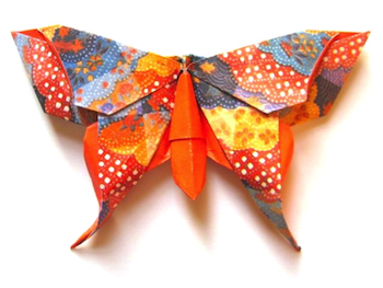 Michael LaFosse Origami Butterfly