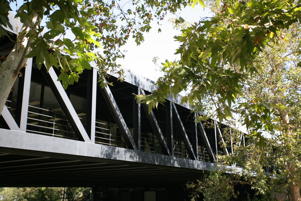 Craig Ellwood's hillside Art Center College of Design campus in Pasadena, California