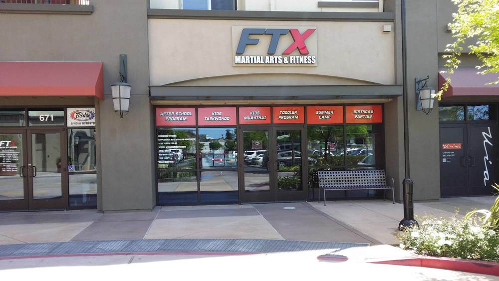 Window Graphics, Window Decal, Dimensional Acrylic Building Sign