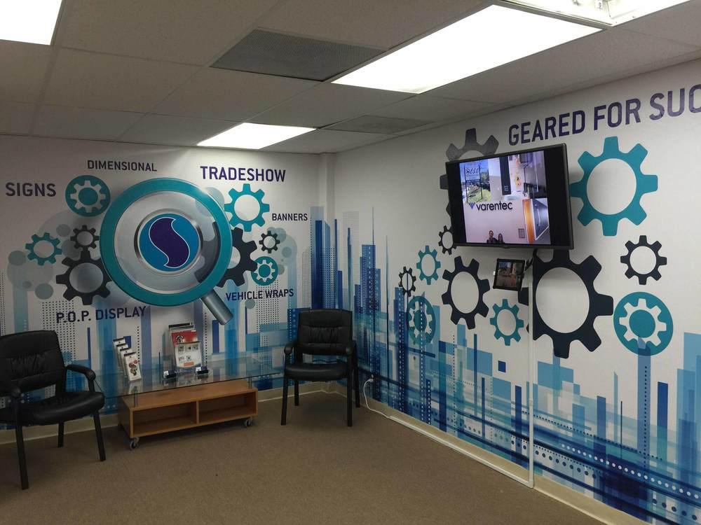 Wall Wrap, Wall Graphics, Wall Decal, Wall Mural