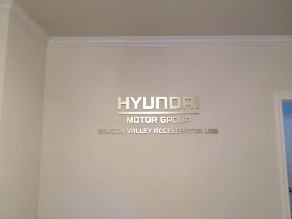 Dimensional Acrylic Lobby / Reception Sign