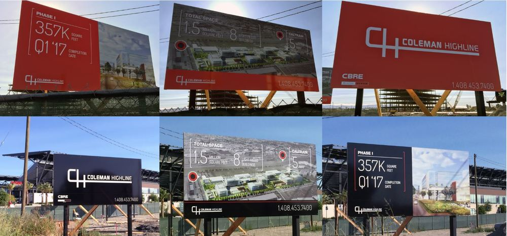 Alupanel Construction Billboard
