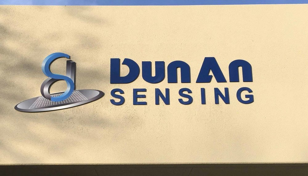 Dimensional Acrylic Building Sign