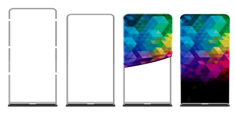 Copy of Tension Fabric Banner Stand