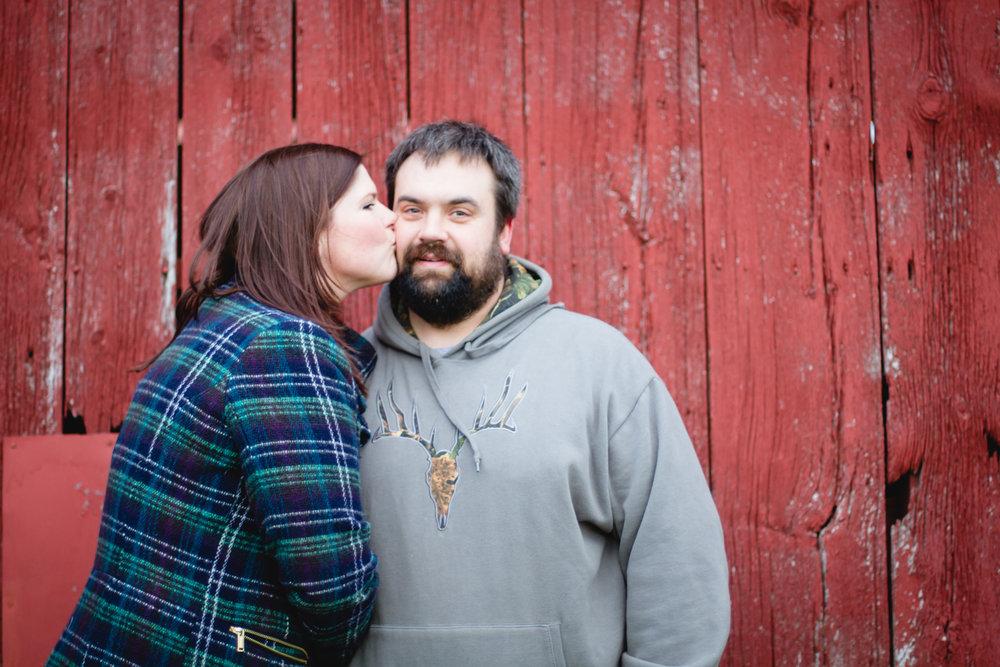 Sarah and Shawn