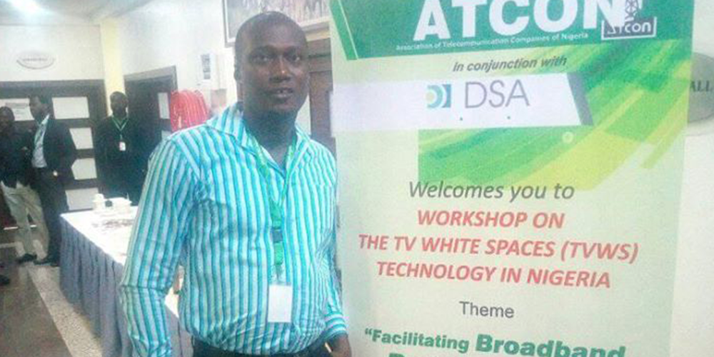 """ColdHubs ICT team attended the Nigerian TV White Spaces Workshop at Abuja which was organized by the Association of Telecommunication Companies Of Nigeria (ATCON) and Dynamic Spectrum Alliance (DSA). Also present at the occasion was Microsoft, Adaptrum, the Nigeria Broadcasting Corporation (NBC) and Nigeria Communication Commission (NCC), the theme of the workshop was:  """"Facilitating broadband penetration in Nigeria through TV white spaces"""".   Much was drawn on the benefits of Nigeria adopting the technology in other to improve the internet access in the country. Examples were taken from other developing countries, using the technology and how the internet access has improved over the years through the adoption of TVWS.  ColdHubs received the 2018 Microsoft Airband Initiative grant award, to set up four internet kiosks alongside its Hubs and connect the kiosks to the internet using the TV White Spaces technology."""