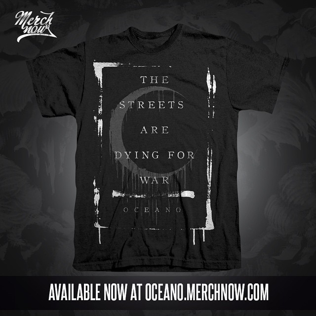 NEW MERCH! This and more now available at www.oceano.merchnow.com
