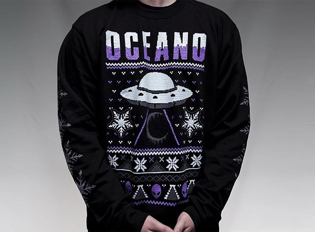 Get in the holiday spirit.  https://www.oceanomerch.com/