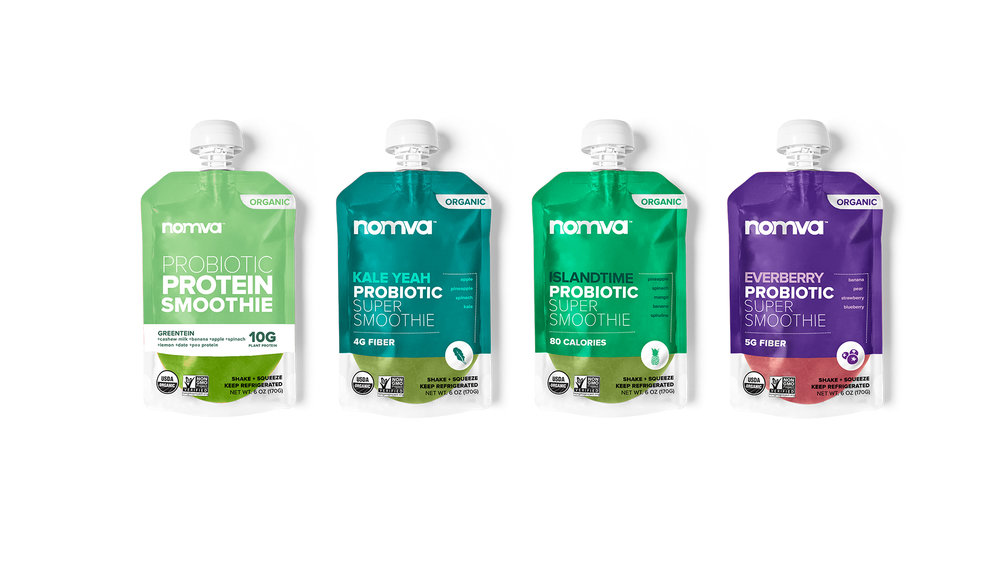 NOMVA - HEAD OF MARKETING— Raising the standard for food and life, the millennial nutrition brand, Nomva, was the fastest growing company to launch in to national retailers Target and Kroger. The flagship line of Probiotic Super Smoothies entered the market as the cleanest on-the-go smoothies in the world, made with probiotics. Distribution also included Amazon, Whole Foods Market, and Sprouts Farmer's Market, amongst other retailers.