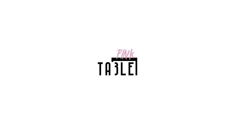THE (PINK) TABLE - DIGITAL MARKETING – BRAND DEVELOPMENT –EVENTS