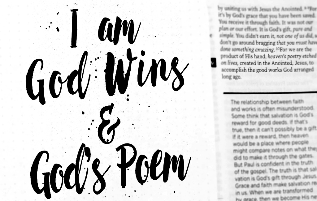 I am God Wins and God's Poem — The Waters Church