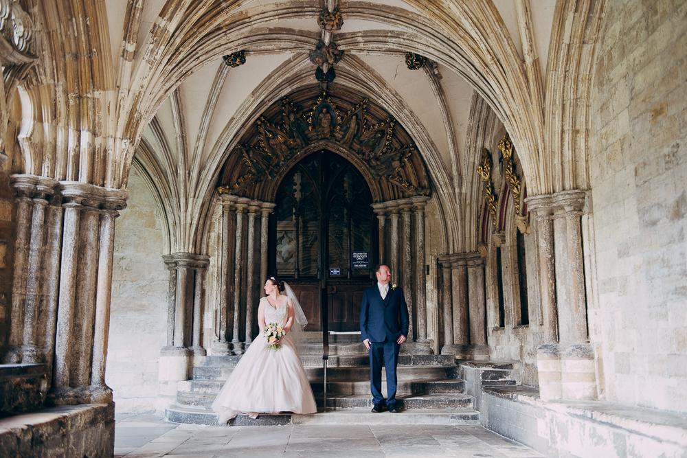 Jen Ben Maids Head Hotel Norwich Cathedral Wedding Norwich