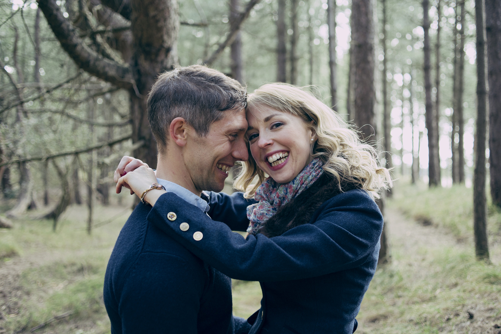 Holkham Engagement Photography
