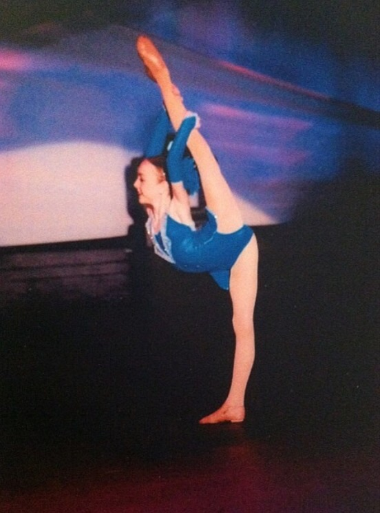 "Natalie won Petite Miss Dance of America with this dance, ""I Wanna Be a Rockette"""