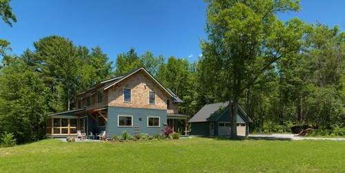Charlotte Modern Farmhouse Elevation