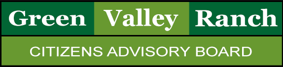 Green Valley Ranch Citizens Advisory Board